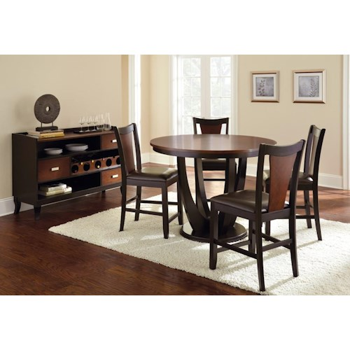 Morris Home Furnishings Oakton Casual Dining Room Group
