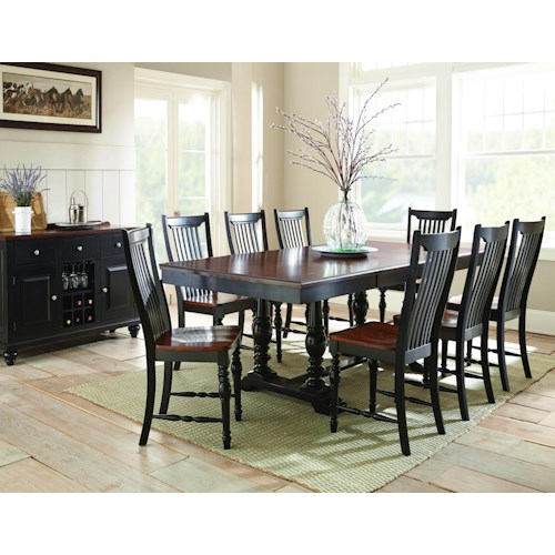 Morris Home Furnishings Samoa Casual Dining Room Group