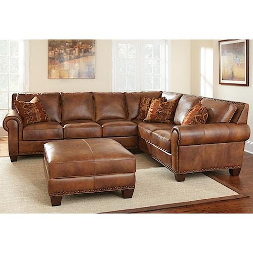 Morris Home Furnishings Silverado Stationary Living Room Group