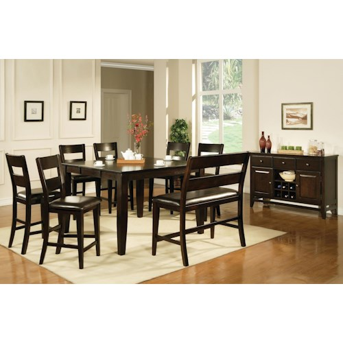 Morris Home Furnishings Victoria  Casual Dining Room Group