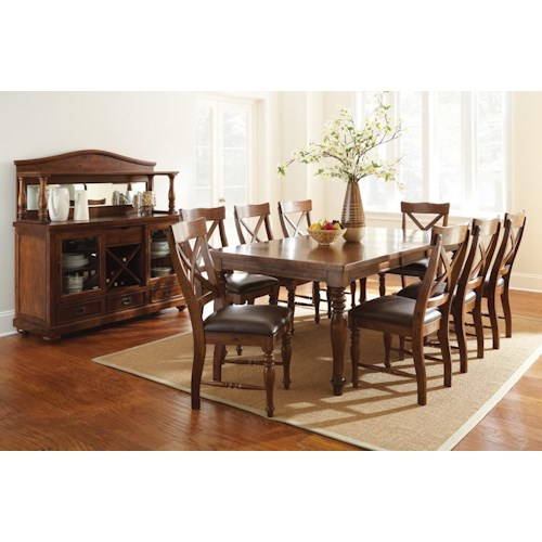 Morris Home Furnishings Wyndham Casual Dining Room Group