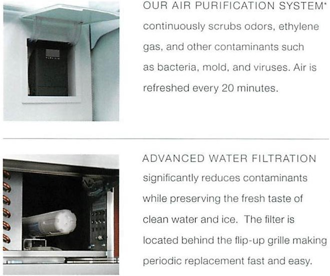 Experience Freshness with the Advanced Water and Air Filtration