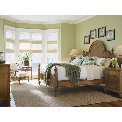 Tommy Bahama Home Beach House King Bedroom Group