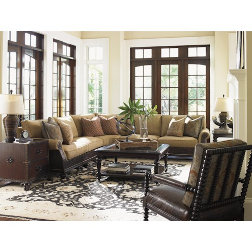 Tommy Bahama Home Island Traditions Stationary Living Room Group