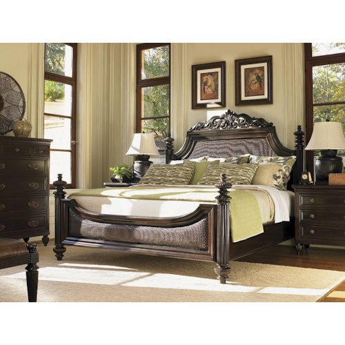 Tommy Bahama Home Royal Kahala King Bedroom Group