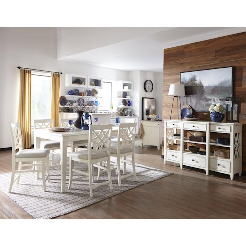 Trisha Yearwood Home Trisha Yearwood Home Casual Dining Room Group