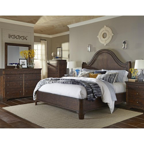 Trisha Yearwood Home Trisha Yearwood Home King Bedroom Group