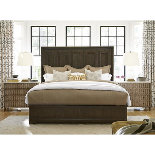 Morris Home Furnishings California - Hollywood Hills King Bedroom Group