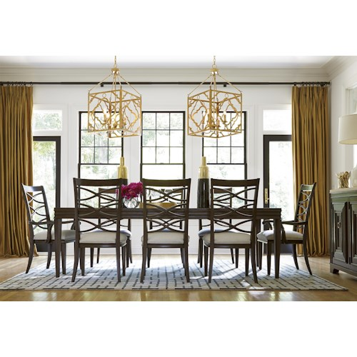 Morris Home Furnishings California - Hollywood Hills Formal Dining Room Group