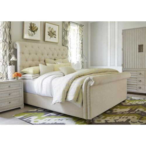 Universal California - Malibu King Bedroom Group