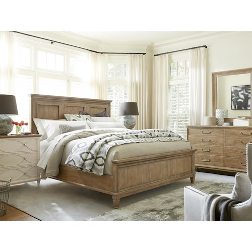 Morris Home Furnishings Moderne Muse California King Bedroom Group