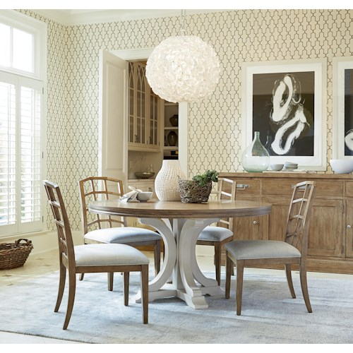 Morris Home Furnishings Moderne Muse Casual Dining Room Group