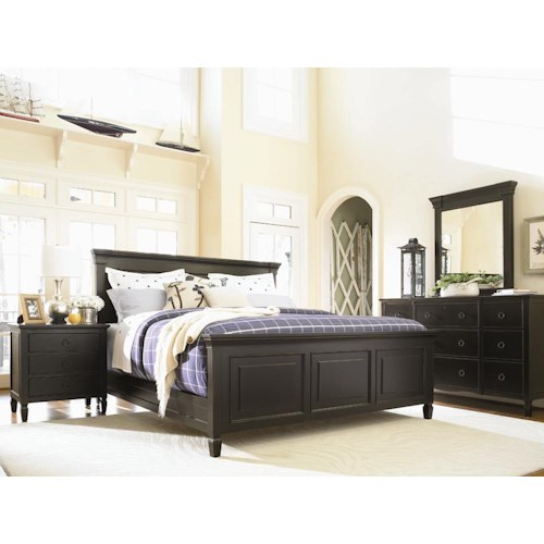 Morris Home Furnishings Summer Hill California King Bedroom Group