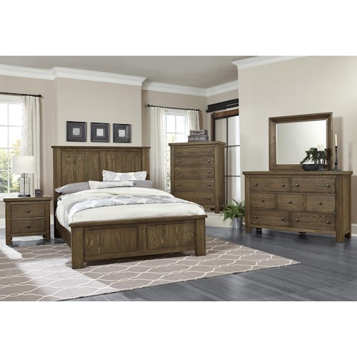 Vaughan Bassett Collaboration King Bedroom Group