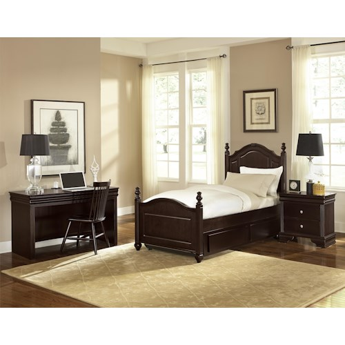 Vaughan Bassett French Market Twin Bedroom Group