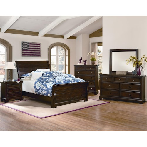 Vaughan Bassett Hanover King Bedroom Group