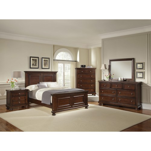 Vaughan Bassett Reflections California King Bedroom Group