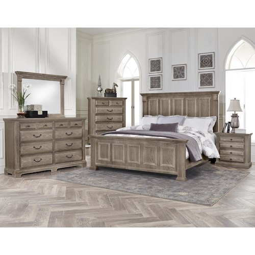 Vaughan Bassett Woodlands King Bedroom Group