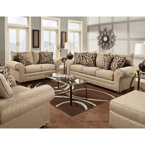 Washington Furniture 2120 Stationary Living Room Group