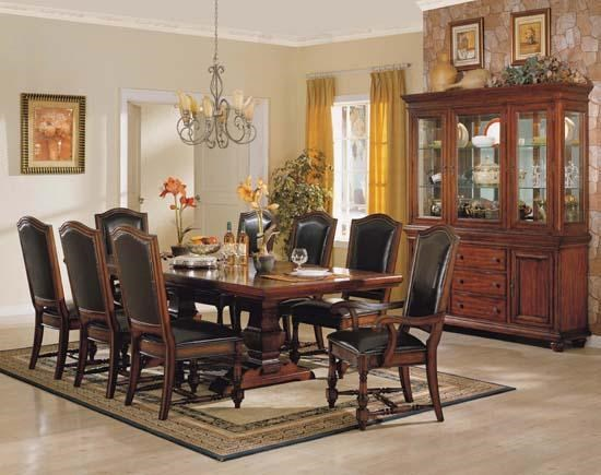 Dining room leather