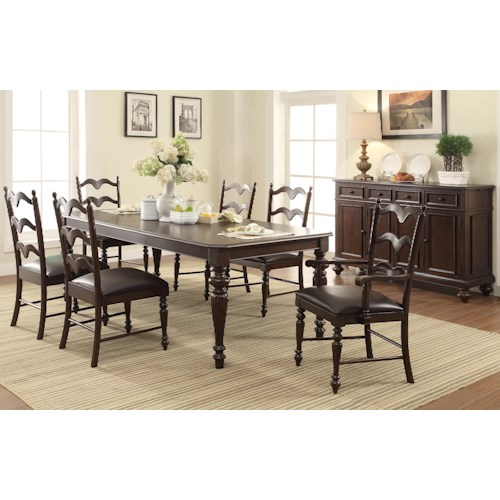 Winners Only Cambridge Formal Dining Room Group