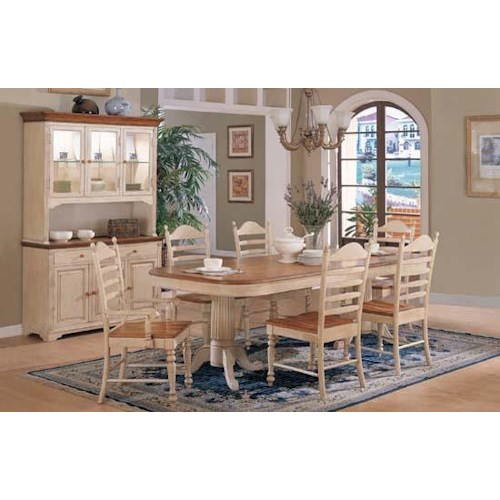 Winners Only Cottage Formal Dining Room Group