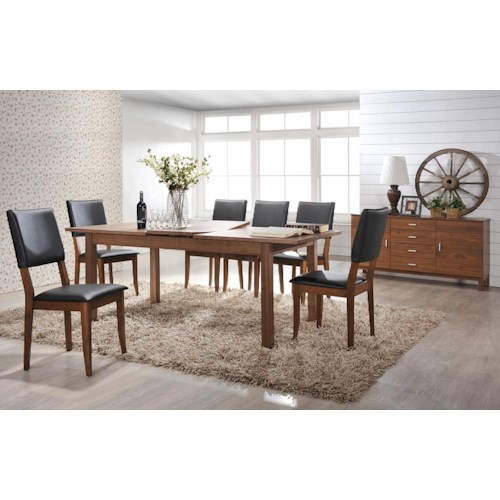 Winners Only Denmark Casual Dining Room Group