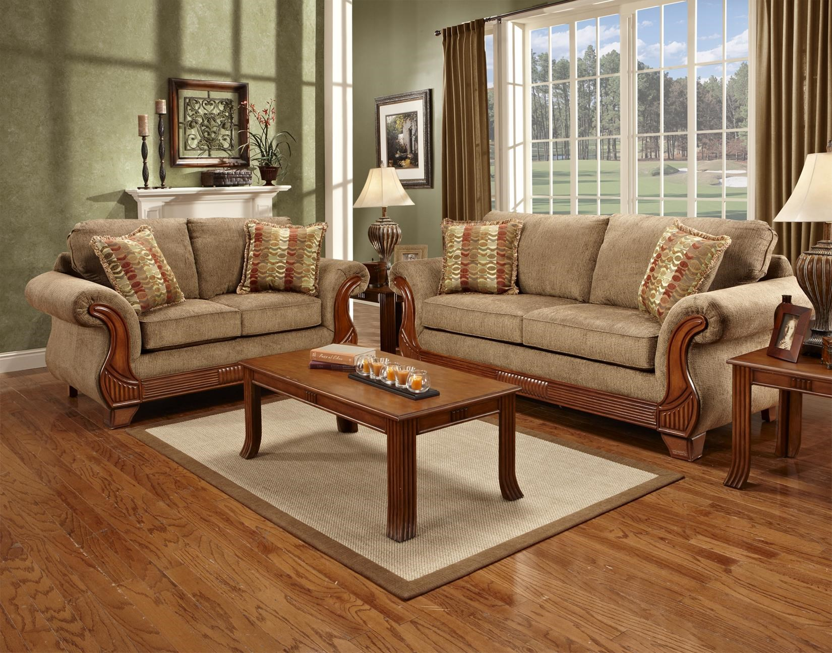 Affordable Furniture 8400 Stationary Living Room Group