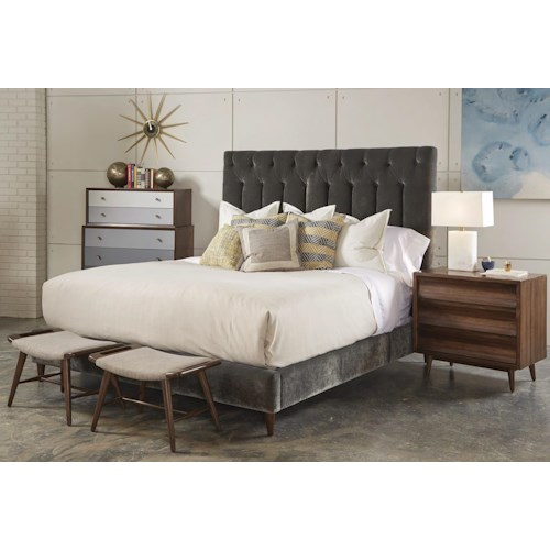 A R T Furniture Inc Epicenters Queen Bedroom Group