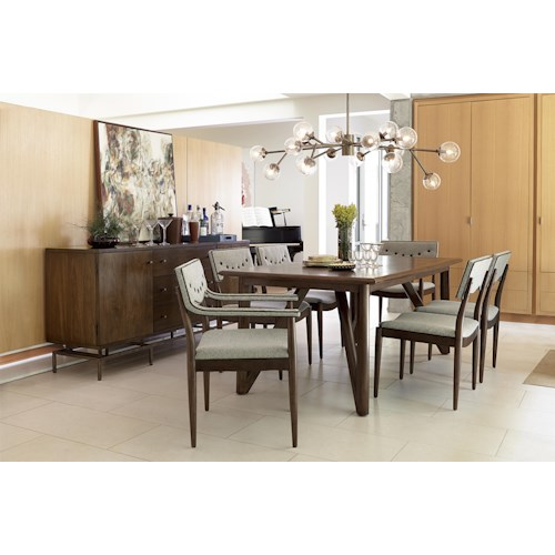 A r t furniture inc epicenters formal dining room group for A r t dining room furniture