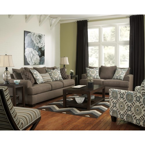 Ashley Furniture Corley Slate Stationary Living Room Group Colder 39 S Furniture And Appliance