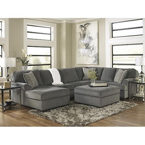 Ashley Furniture Outlet Orlando: Smoke Stationary Living Room