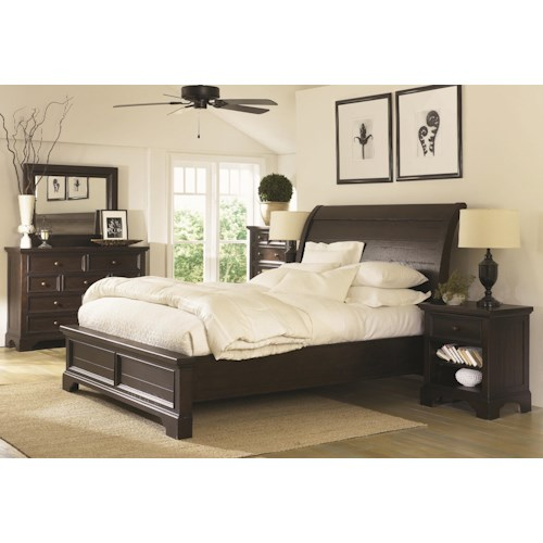 Aspenhome Bayfield Queen Bedroom Group Fashion Furniture
