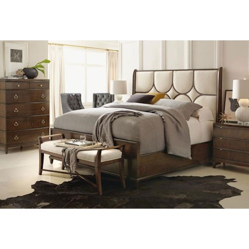 Bernhardt beverly glen king bedroom group design for Bedroom furniture groups