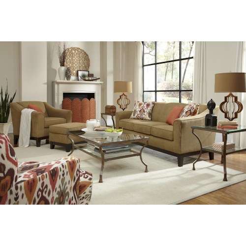 Best home furnishings emeline stationary living room group for Best value living room furniture