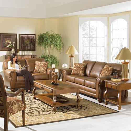 Best Home Furnishings Fitzpatrick Stationary Living Room