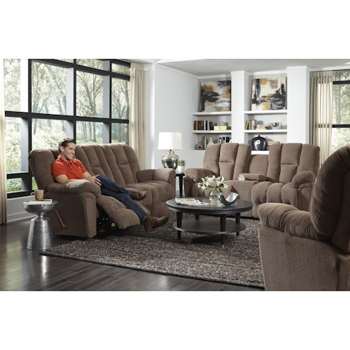 Best Home Furnishings Lucas Power Reclining Living Room Group Turk Furniture Reclining