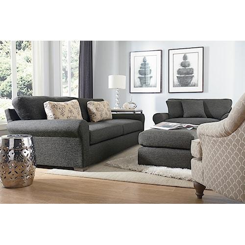 Best Home Furnishings Sophia Stationary Living Room Group
