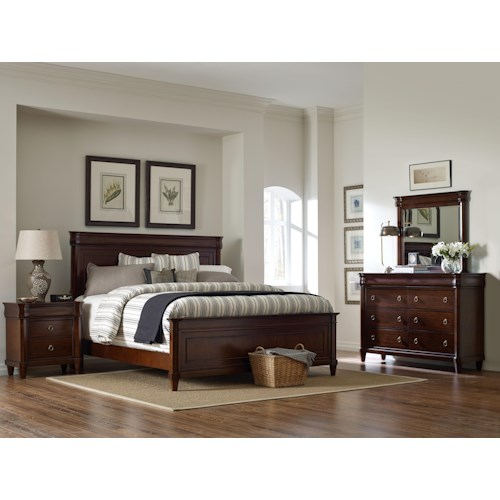 Broyhill furniture aryell queen bedroom group broyhill of denver bedroom group denver - Denver bedroom furniture ...