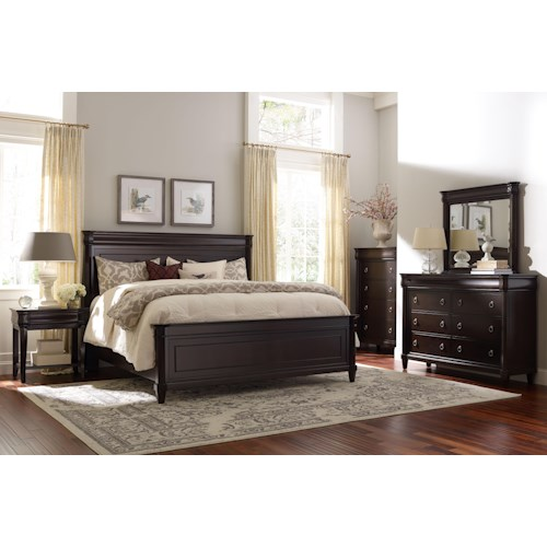 Broyhill Furniture Aryell King Bedroom Group Wayside