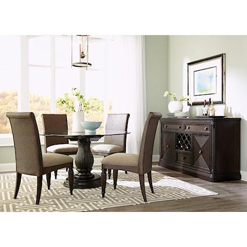 Broyhill furniture jessa casual dining room group for Broyhill dining room furniture
