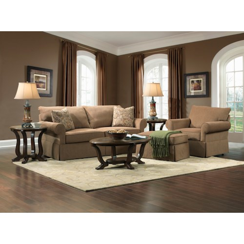 Broyhill Furniture Uptown Stationary Living Room Group Colder 39 S Furniture And Appliance