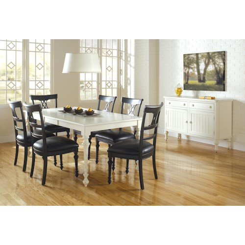 home casual dining room group canadel custom dining casual dining room