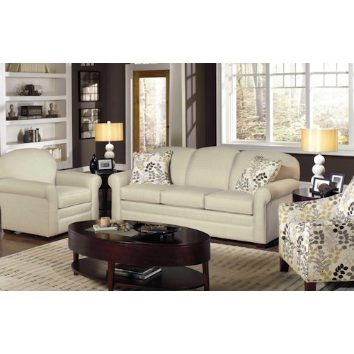Hickory Craft 718550 Stationary Living Room Group Godby