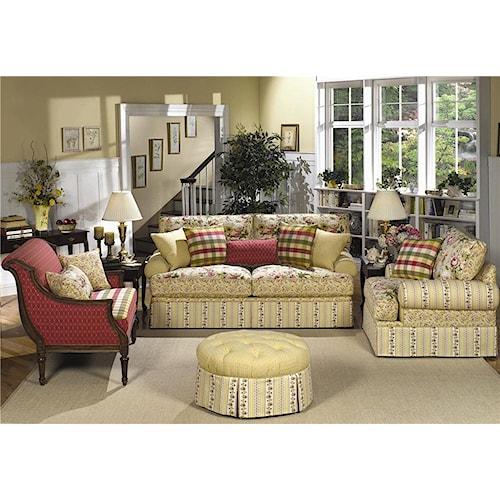 Craftmaster 9535 Stationary Living Room Group Hudson 39 S Furniture Upho