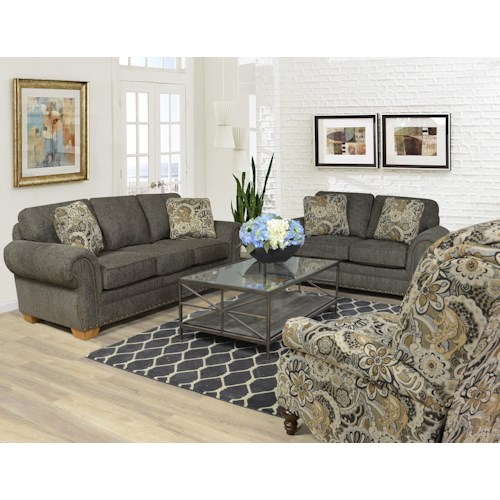 England Walters Stationary Living Room Group Colder 39 S Furniture And Appliance Upholstery Group