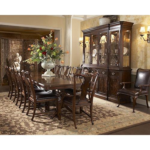 Fine furniture design hyde park formal dining room group for Park chair design