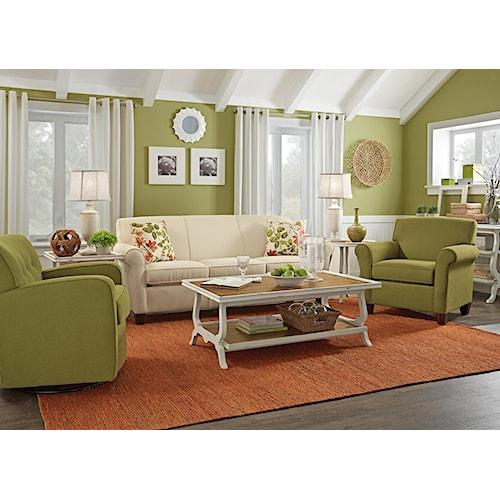 Flexsteel Dana Stationary Living Room Group Hudson 39 S Furniture Uphols