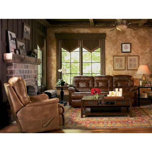 Flexsteel Latitudes Great Escape Reclining Living Room Group Powell 39 S Furniture And Mattress