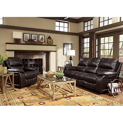 Flexsteel Latitudes Woodstock Reclining Living Room Group Zak 39 S Fine Furniture Reclining
